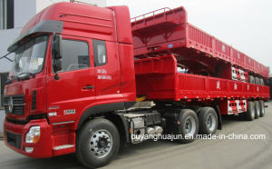 13 Meters 6300kg H: 60cm Semitrailer with Side Wall pictures & photos