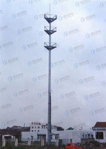 Customed Steel Communication Monopole Tower