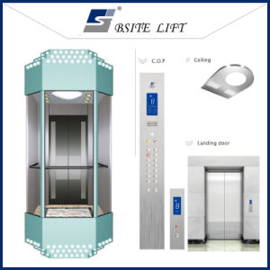 Nice Designed Panoramic Elevator with Car Covers pictures & photos
