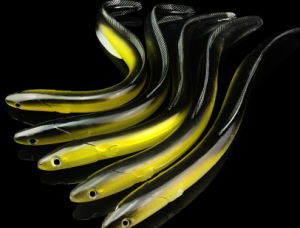 30cm 58g Soft Eel Lure Very Soft Body High PVC Material Fishing Lure Soft Lure Fishing Tackle pictures & photos