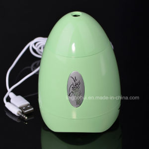 Egg Shape Mini Portable Active USB Speaker with LED pictures & photos