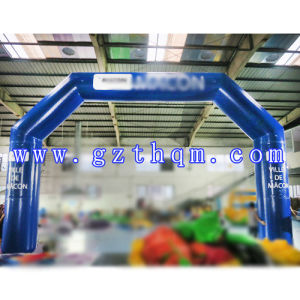 Inflatable Advertisement Arch/Exhibition Inflatable Arch Outdoor Advertising pictures & photos