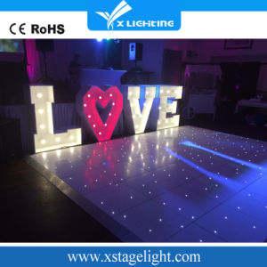 Wireless Glass LED Starlit Twinkling Dance Floor for Wedding Party Event pictures & photos