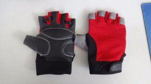 Sporting Glove-Half Finger Glove-Anti-Vibariation Glove-Safety Glove-Riding Glove pictures & photos