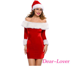 Sexy Delightful Santa Sweetie Adult Costume pictures & photos