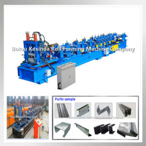 C Z Metal Sheet Roofing Purlin Forming Machinery pictures & photos