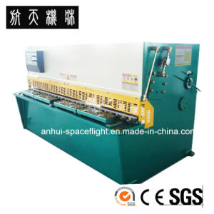 QC12K-6X4000 CNC Hydraulic Swing Beam Shearing and Cutting Machine pictures & photos