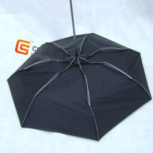 """21""""X8K 4 Folding Windproof Sun Protection One Layer Golf Umbrella with Logo Printing (YS4F0001)"""
