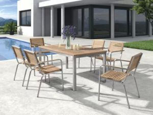 7 PCS Polywood Aluminium Garden Outdoor Furniture pictures & photos