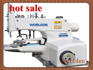 Wd-1377D Direct Drive High Speed Button Attaching Industrial Machine pictures & photos
