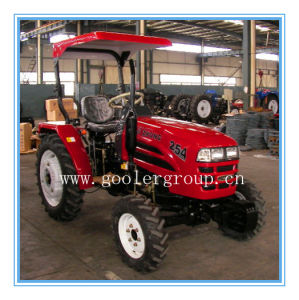 25HP 4WD Small Compact Farm/Garden Tractor (LZ254/TZ03D/LW-6) pictures & photos
