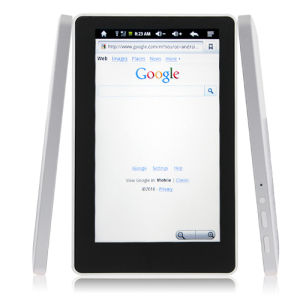 Milk Pad 7 Inch Android 2.1 Capacitive Screen 360 Degree G-Sensor 4GB Metal Frame