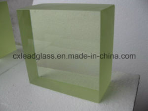 Nuclear Medical / Industrial High Density Zf7 X-ray Glass for Hotcell pictures & photos