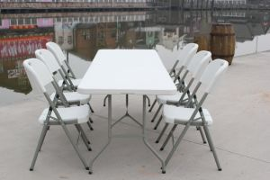 8-Foot Plastic Party Folding Table (SY-240Z) pictures & photos