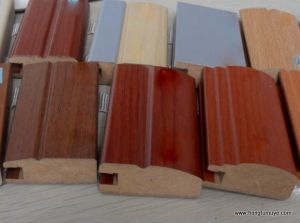 Laminate or Veneed Skirting Board (SK-229-232) pictures & photos