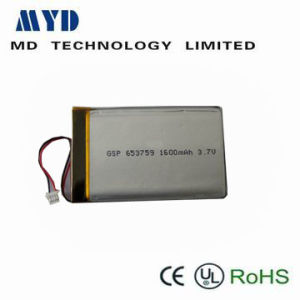 3.7V1600mAh Li-Polymer Battery