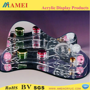 Clear Acrylic Lipstick Rack Display (AM-C096)