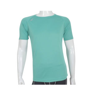 Men′s Basic Blank Solid Color Personalized T-Shirt