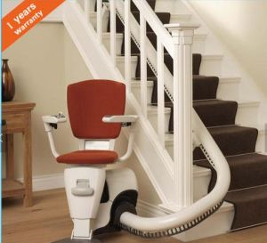 Curved Stair Lift for Disabled Person pictures & photos