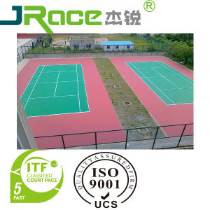 Wear Resistant Sport Flooring Surface for Outdoor Playing pictures & photos