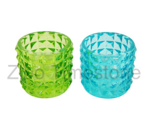 Colored Glass Candle Holder (TM1512) pictures & photos