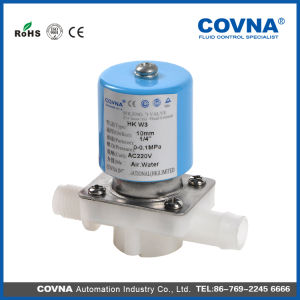 Drinking Water PP Solenoid Valve for RO System pictures & photos
