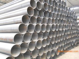 Ms Hollow Section Welded Black Round Steel Pipe pictures & photos