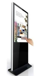 42′′ Large Floor Stand LCD Touch Screen Advertising Display