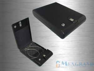 Biometric Pistol Safe with Security Cable for Home (MG65) pictures & photos