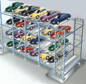 Puzzle Parking System Car Stacker
