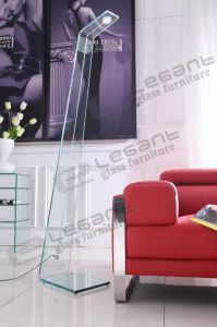 High 15 Mm Thickness Clear Glass LED Lamp for Reading pictures & photos