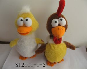 Crow Duck&Crow Cock (ST2111-1-2)