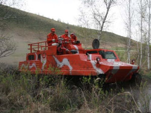 Multi-Purpose Tracked Forest Fire-Fighting Vehicle pictures & photos