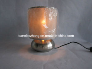 Cloth Lamp with Stainless Base Lampshade and Big Type Cloth Lamp.