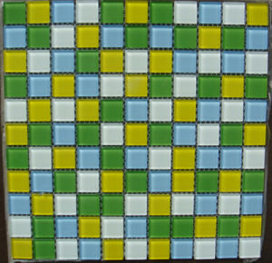 Swimming Pool Mosaic, Mosaic Wall Tile, Crystal Glass Mosaic (HSP301) pictures & photos