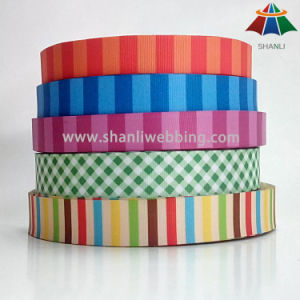 Custom Heat Transfer Printing Polyester Tape for Pet Accessories pictures & photos