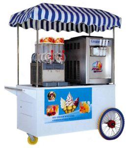 Slush Machine+Ice Cream Machine/Combination Mobile Vehicle pictures & photos