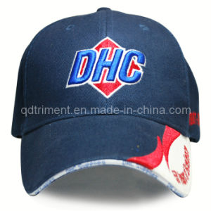 Constructed 3D Embroidery Sandwich Racing Baseball Cap (TRB053) pictures & photos