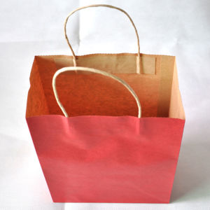 Kraft Paper Bags with Twisted Paper Handle (PP-07) pictures & photos