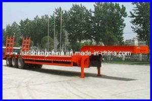 Low Bed Trailer, Flatbed Semi Truck Traile pictures & photos