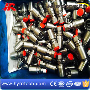 America Popular One Piece hydraulic Hose Fittings pictures & photos