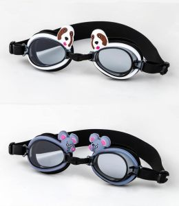 UV Protected Anti-Fog Cartoon Swimming Goggles for Kids pictures & photos