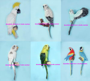 Polyresin Parrot Wall Mount, Parrot Wall Plaque, Parrot Mount pictures & photos