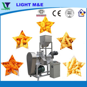High Quality Small Automatic Rotary Head Kurkure Snacks Extruder pictures & photos
