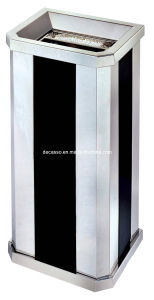 Stainless Steel Ash Rubbish Bin (DK90) pictures & photos