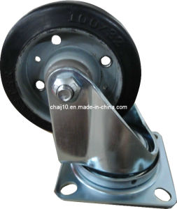 Rubber Caster Wheel (R011) pictures & photos
