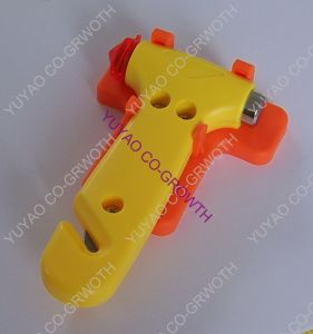 Car Emergency Safety Hammer With Safety Seat Belt Cutter (TH002)