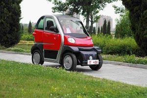 4kw Hub Motor Electric Car Miki