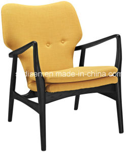 Solid Wood Lounge Chair/Elizabeth Club Chair (DS-H541)