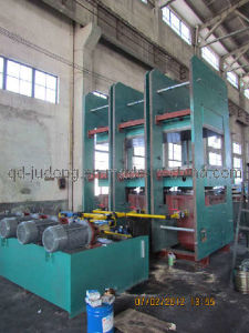 1000t Platen Vulcanizer Press / Rubber Vulcanizer (ISO/CE) pictures & photos